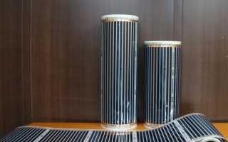 Плёночный инфракрасный обогреватель: виды, устройство, принцип действия и нюансы монтажа