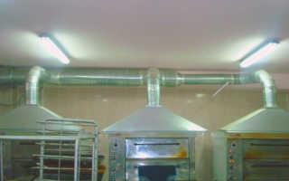Поиск нормативных документов для организации вентиляции пекарни