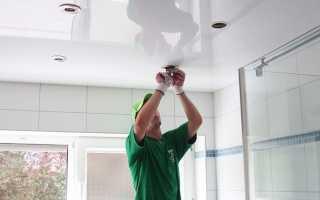 Как выбрать лампочки для натяжных потолков? Нюансы подключения и расположения