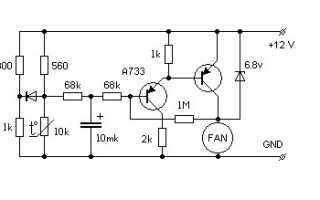 Регулятор скорости вращения вентилятора: виды, принцип работы, как собрать самому